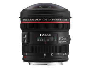 Canon EF 8-15mm f/4L