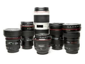 Kit de Lentes Canon EF