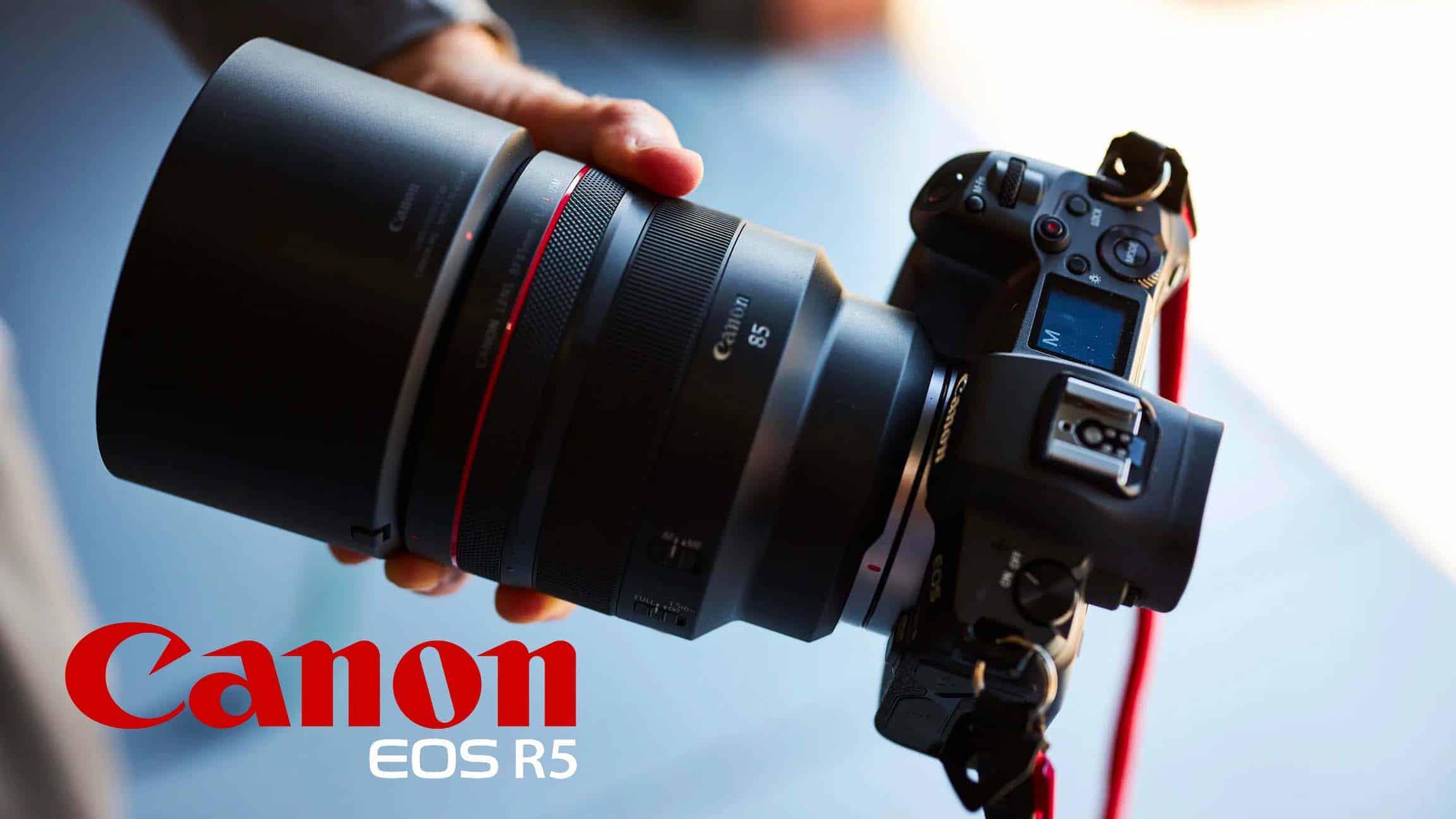 Canon anuncia oficialmente la cámara EOS R5.