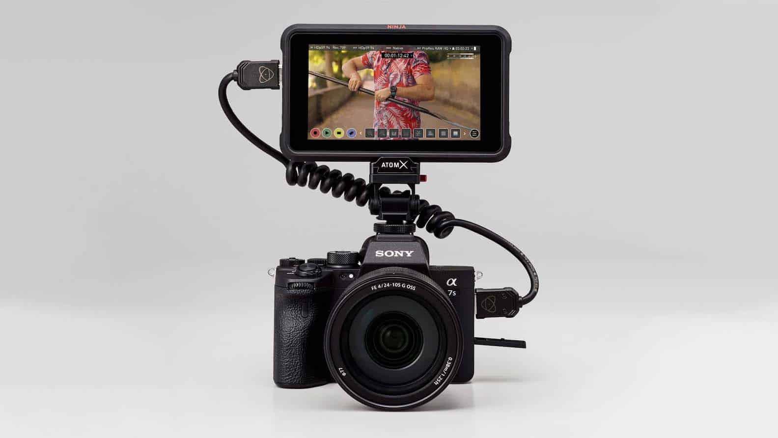 Atomos Ninja V ahora graba 4K60p 12-Bit ProRes RAW con la Sony a7S III.