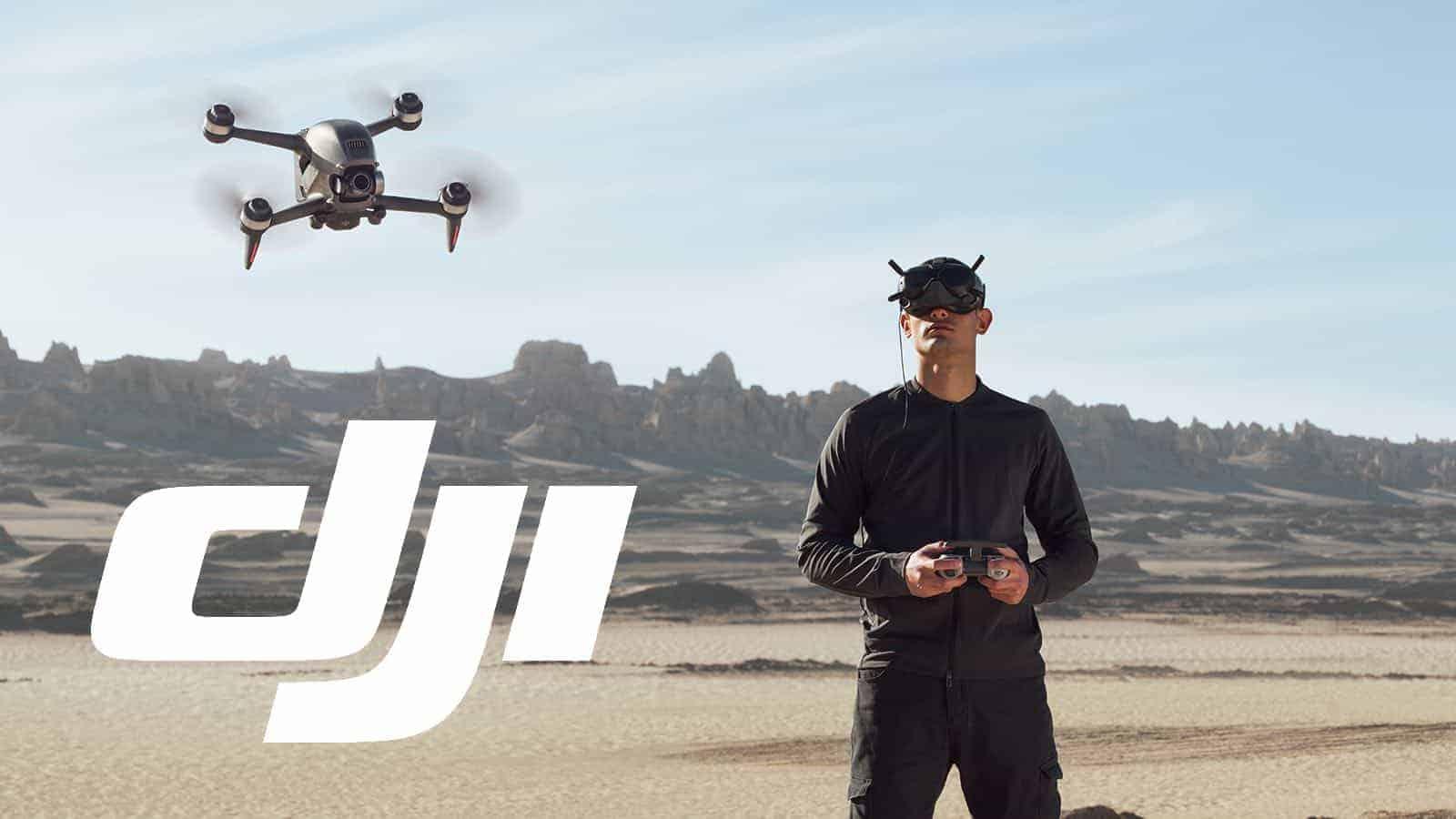 DJI lanza el FPV, su primer drone con gafas y control joystick