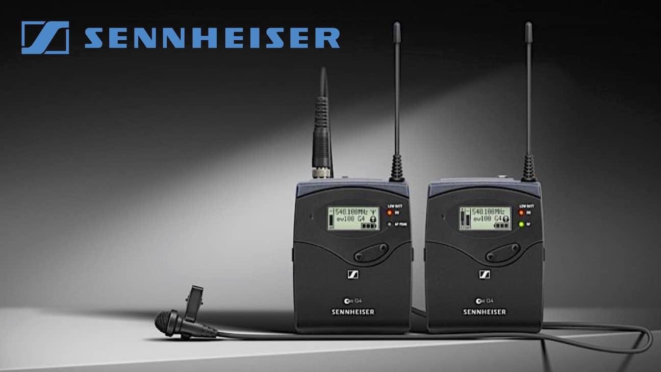 Logra sonido de alta calidad con los micrófonos inalámbricos de Sennheiser